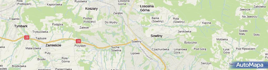 Zdjęcie satelitarne Grzegorz Sułkowski Sowlinex Grzegorz Sułkowski