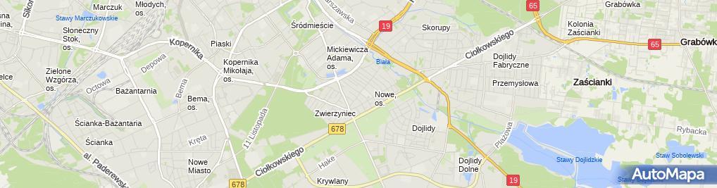Zdjęcie satelitarne Ibda - Mariusz Jarmoc