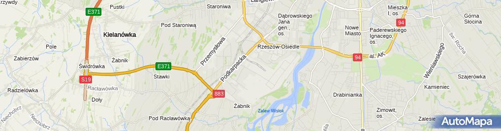 Zdjęcie satelitarne ITS sp z o.o o/Rzeszów
