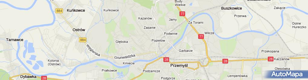 Zdjęcie satelitarne Jacek Tomas Zakład Usługowo-Handlowy Instal-Expert