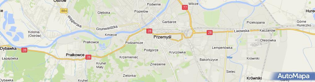 Zdjęcie satelitarne Janusz Bator Zakład Usługowo-Produkcyjny Montel - BR
