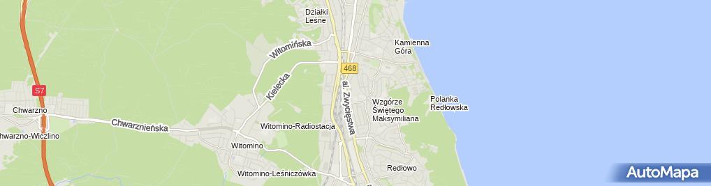 Zdjęcie satelitarne Janusz Juśkiewicz - Działalność Gospodarcza