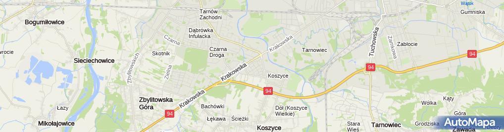 Zdjęcie satelitarne Janusz Łątka PPHU Profi
