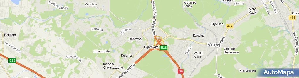 Zdjęcie satelitarne Janusz Moga ''Mo-Ja'' Usługi Hydrauliczne i Ogólnobudowlane