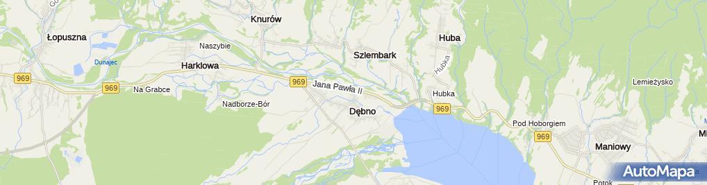 Zdjęcie satelitarne Józef Kukuczka Usługi Remontowo-Budowlane Robmost