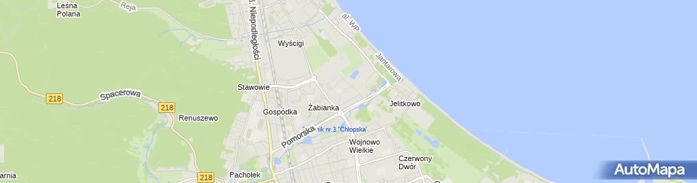 Zdjęcie satelitarne Józef Zajączkowski - Działalność Gospodarcza