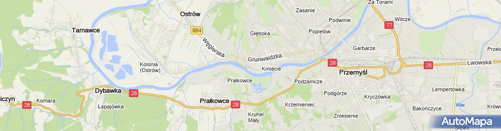 Zdjęcie satelitarne Julian Wota Firma Usługowo-Handlowa Restaurator