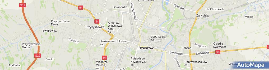 Zdjęcie satelitarne Kępa Inwestycje