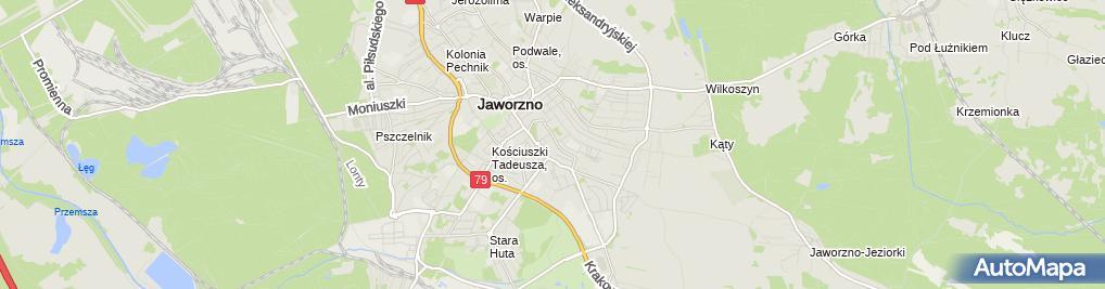 Zdjęcie satelitarne Kris Mir Lisik Mirosław Kucel Krzysztof