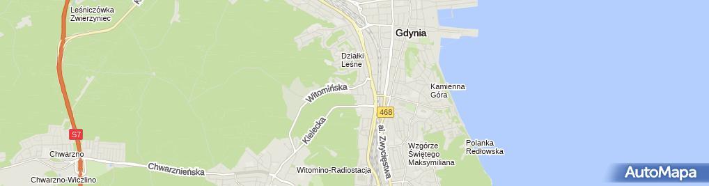 Zdjęcie satelitarne Krzysztof Klemke 'Klemar' Zakład Remontowy
