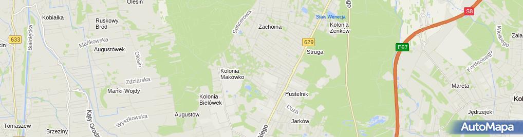 Zdjęcie satelitarne Krzysztof Lipka Usługi Elektryczne Eltilo