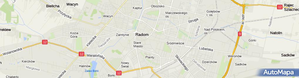 Zdjęcie satelitarne Krzysztof Ziomek - Działalność Gospodarcza