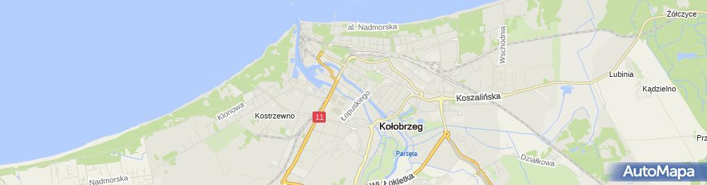 Zdjęcie satelitarne Kuroń Zbigniew Uslugowy Zaklad Blacharsko Dekarski Dach Pol