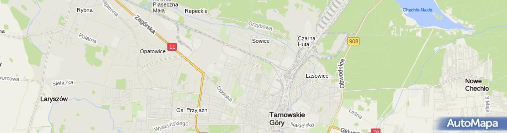 Zdjęcie satelitarne Łukasz Szołtysik Elektro - Conect
