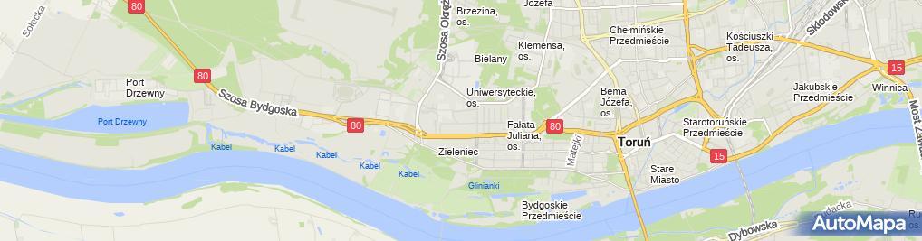 Zdjęcie satelitarne Łukaszewicz Łukasz Tor Fa Przedsiębiorstwo Handlowo Usługowe Tor Fa