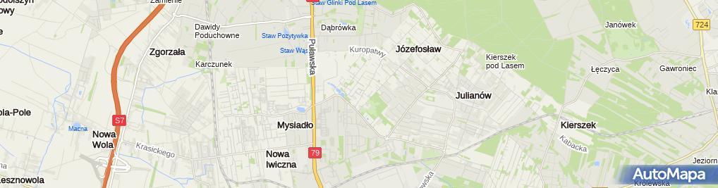 Zdjęcie satelitarne Ma Tel Paweł Maciejewski