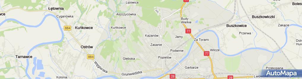 Zdjęcie satelitarne Marcin Litwin Zakład Usługowo-Handlowy Rem-Works