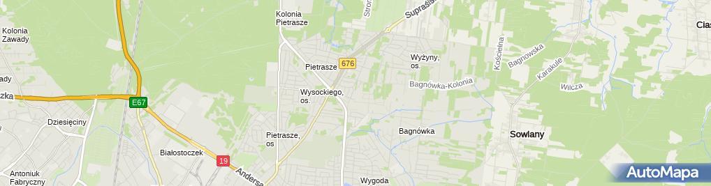 Zdjęcie satelitarne Marek Czeremcha - Działalność Gospodarcza
