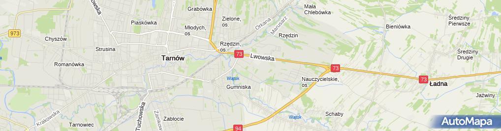 Zdjęcie satelitarne Marian Babiarz Firma Handlowo-Usługowa Elektro-System