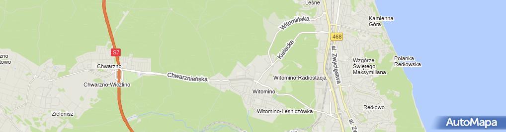 Zdjęcie satelitarne Mateusz Wojtas - Działalność Gospodarcza