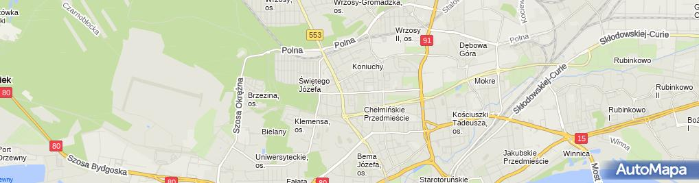 Zdjęcie satelitarne Meller Marek Zakład Remontowo Budowlany
