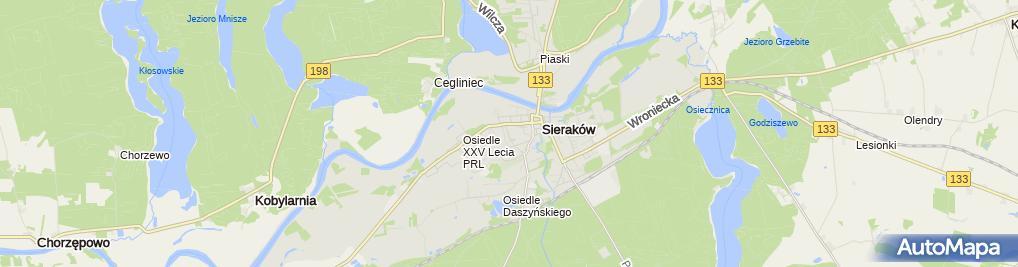 Zdjęcie satelitarne Michalak Józef