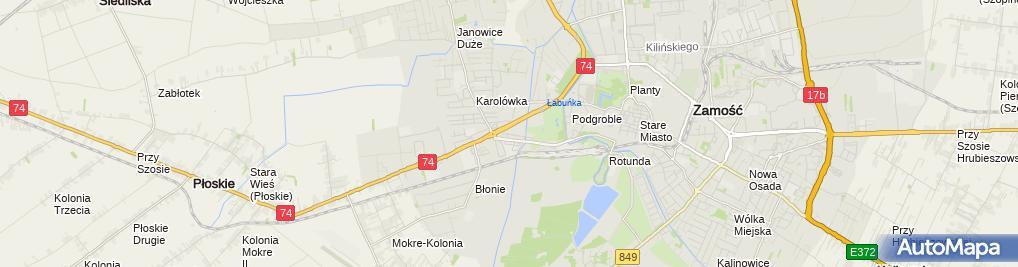 Zdjęcie satelitarne Mieczysław Rabiega - Działalność Gospodarcza