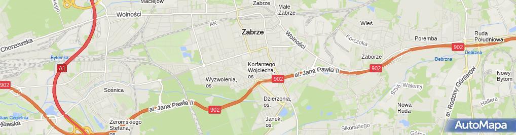 Zdjęcie satelitarne Mirosław Mazela - Działalność Gospodarcza