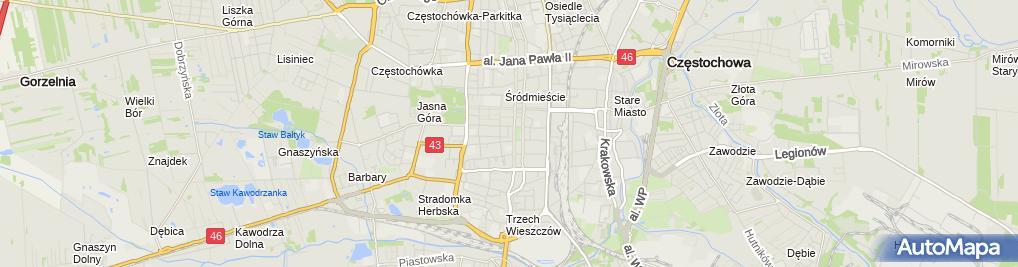 Zdjęcie satelitarne Mont-Dach Iwona Sosnowska