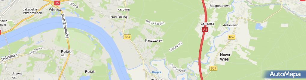 Zdjęcie satelitarne Murawski Andrzej Zakład Stolarski