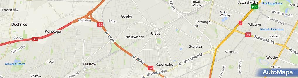 Zdjęcie satelitarne Netbud Elsner J Kuligowski L Mielniczek M Nawrocki K