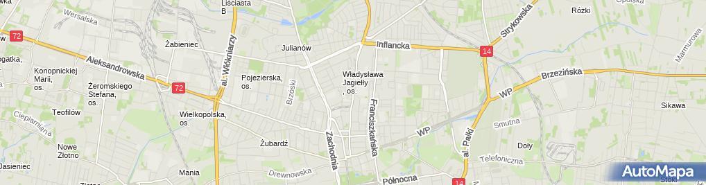 Zdjęcie satelitarne O D S i Firma Remontowo Budowlana