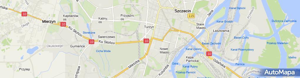 Zdjęcie satelitarne Only Floor Łukasz Gawroński