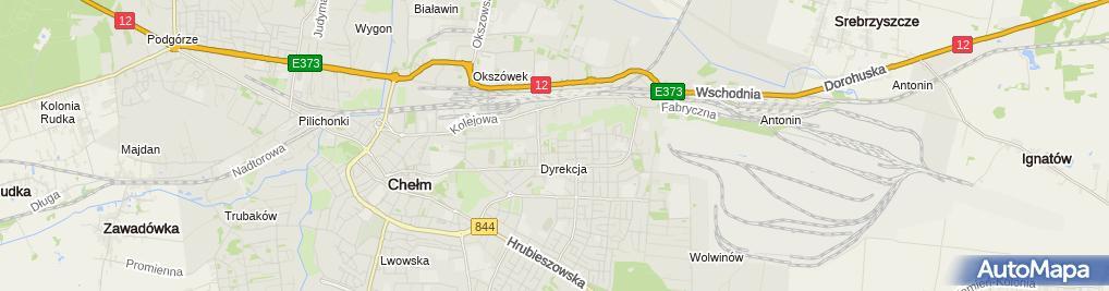 Zdjęcie satelitarne Opon - Pol Kłapeć Andrzej
