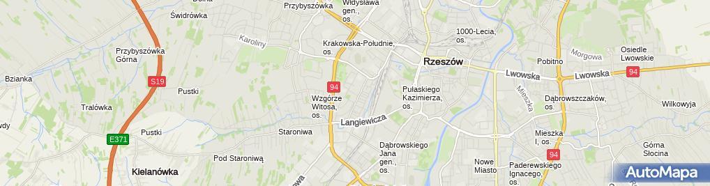 Zdjęcie satelitarne Orzech Mariusz