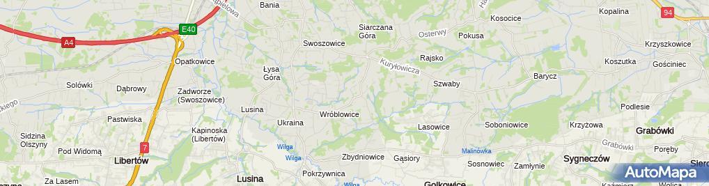 Zdjęcie satelitarne Partena