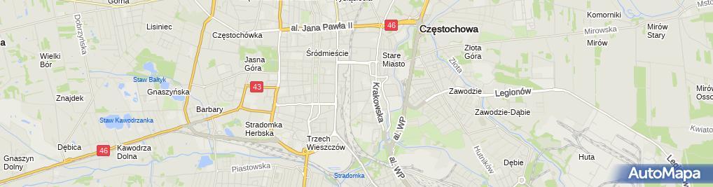Zdjęcie satelitarne Patryk Lisiński Budmax