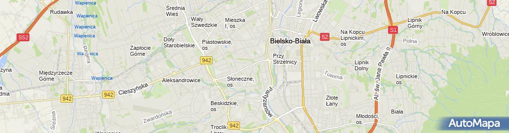 Zdjęcie satelitarne Pawbet Paweł Długołęcki