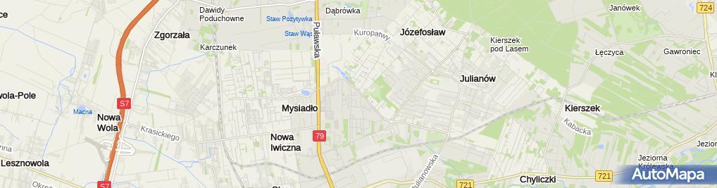 Zdjęcie satelitarne Paweł Kotulski-Wspólnik Spółki Cywilnej Aqua-Bud