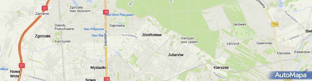 Zdjęcie satelitarne Paweł Marciniak Wspólnik Spółki Cywilnej Budex