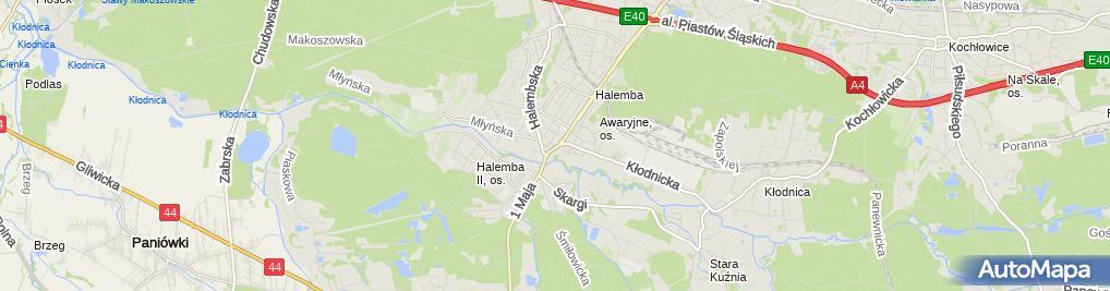 Zdjęcie satelitarne PHU Greenlux