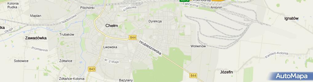 Zdjęcie satelitarne PPH Transtech Wojciech Tuszewski