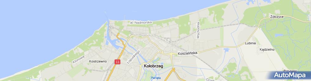 Zdjęcie satelitarne Procner Okna Procner Sławomir
