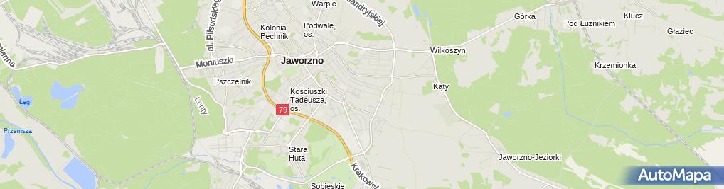 Zdjęcie satelitarne Przeds Remontowo Budowlano Montażowe Stalkor