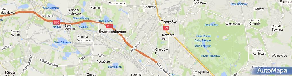 Zdjęcie satelitarne Przedsiębiorstwo Budowlano-Montażowe Bud-Dom Wojciech Wrzęczycki