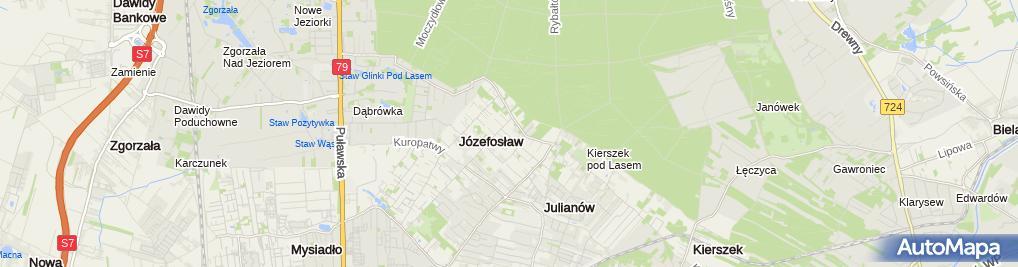 Zdjęcie satelitarne Przedsiębiorstwo Handlowo-Usługowe Maciej Cykowski