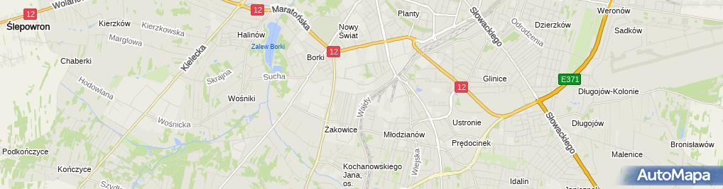 Zdjęcie satelitarne Przedsiębiorstwo Produkcyjno-Handlowo-Usługowe Polmont Beata Wróbel