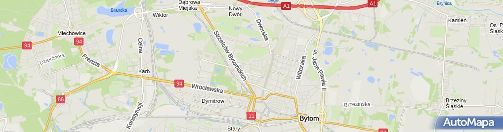 Zdjęcie satelitarne Przedsiębiorstwo Produkcyjno Usługowo Handlowe Olimp Ludwik Haduła Sebastian Szotek