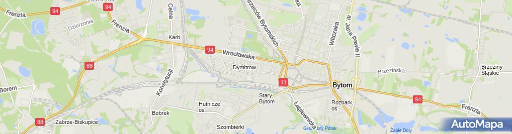 Zdjęcie satelitarne Przedsiębiorstwo Usługowe
