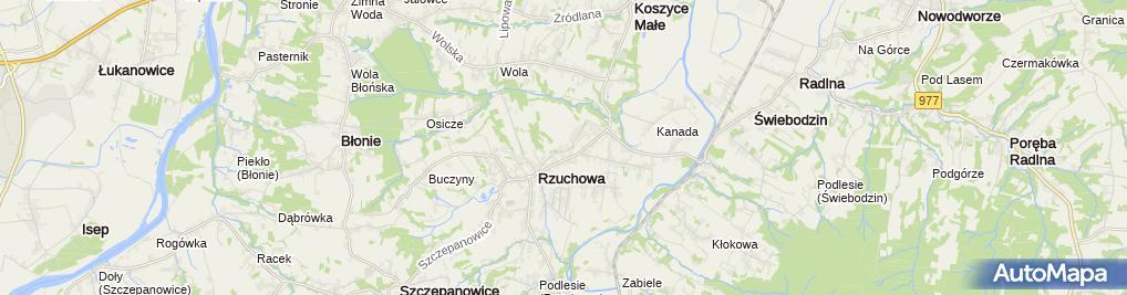 Zdjęcie satelitarne Robert Biga Zakład Remontowo Budowlany